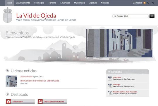 Bienvenidos a la web de La Vid de Ojeda